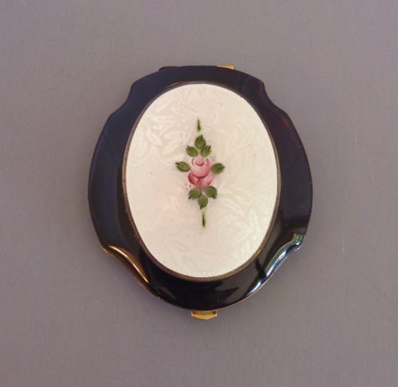 ELGIN Clarice Jane compact with powder, rouge and mirror inside