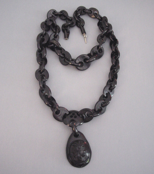 Victorian early french jet necklace pendant morning glory jewelry victorian whitby jet locket cameo necklace 1870 aloadofball Image collections