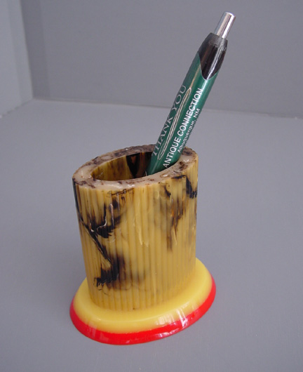 SHULTZ bakelite pencil holder stand for your desk